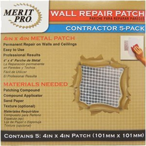 UPC 652270032153, Merit Pro 3215 4 x 4 in. Contractor Wall Repair Patch - 5 Pack