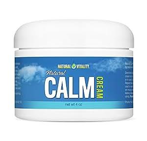 Natural Vitality Natural Calm Magnesium Cream 4 oz