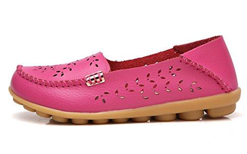 VenusCelia Women's Natural Breathable Walking Flat Loafer