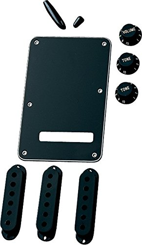 Pearl Genuine Fender - Fender  Electric Guitar Strat Accessory Kit - Black
