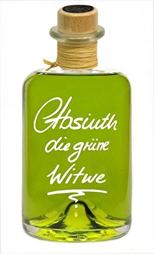 Absinth Die Grüne Witwe 0,5L Mit maximal erlaubten Thujongehalt 35mg/L 55%Vol