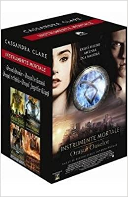 Caseta Instrumente mortale vol.1-4 (Romanian Edition): Cassandra Clare: 9789731025773: Amazon.com: Books