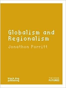 Book Globalism and Regionalism (Edge Futures)