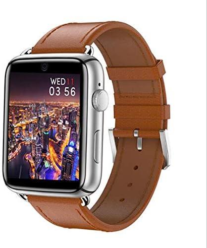 心拍数モニター付きスマートウォッチ睡眠フィットネスおよびアクティビティトラッカー、防水、1.88インチHDスクリーンタッチウォッチ、Android、4Gネットワーク(シルバー)
