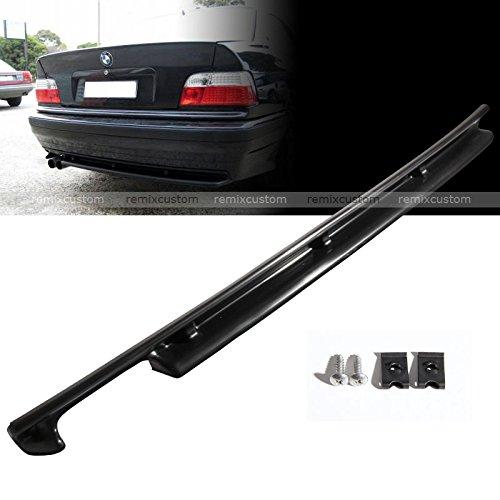 (Rear Body Bumper Diffuser Lip Kit Fits 92-99 BMW E36 3 Series)