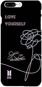 KPOP BTS Album love yourself Bangtan Boys iPhone 8 plus hard Full protector Case Cover