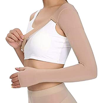 Tinsay Post Mastectomy Compression Sleeve, Anti Swelling Support Edema Swelling Lymphedema, 30~40 mmHg (Left Hand/Right Hand)