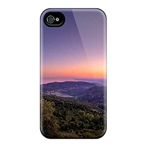 New Snap-on Luoxunmobile333 Skin Cases Covers Compatible With Ipod Touch 4 - Panoramic Sunset