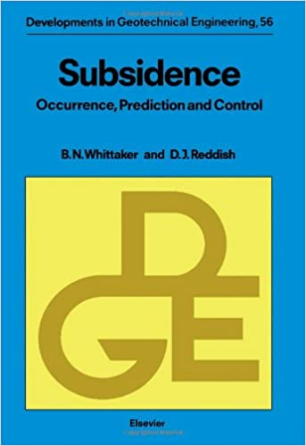 Subsidence: Occurrence, Prediction, and Control: Barry N