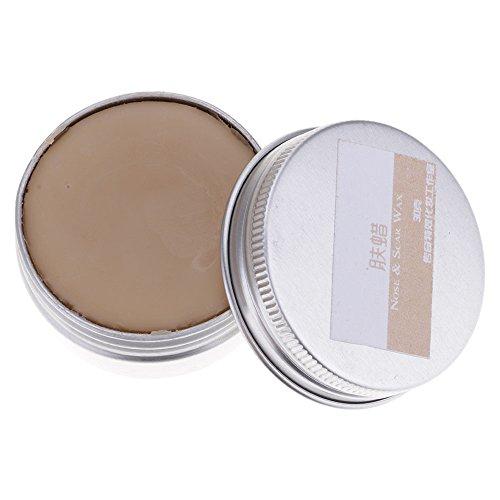 VANKER Professional Makeup Wax Halloween Fake Scar Wound Skin Wax Body Face Painting Makeup (Dark Skin,60g)