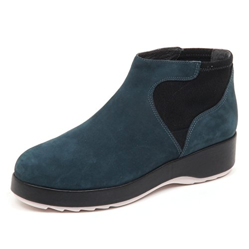 CAMPER D8794 (Without Box) Scarpa Donna Blu Petrolio Scarpe Boot Shoe Woman blu petrolio/nero