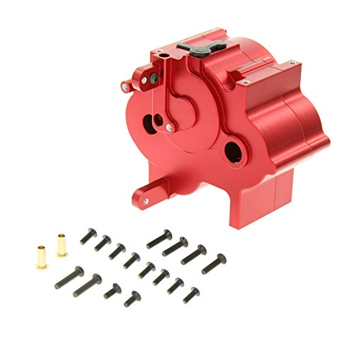 GPM Racing Alloy Center Gear Box for 1:8 HPI Flux + Other HPI Models, Red