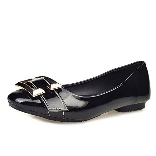 poco profundos bajo Joker zapatos/Planos/la manera zapatos puntiagudos de la señora B