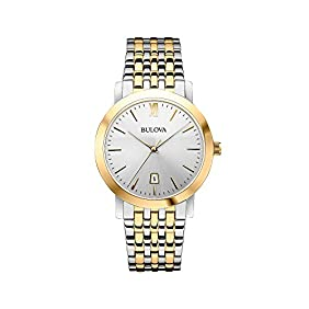 Bulova Men's Classic Two Tone Watch