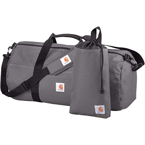 Carhartt Trade Series 2-in-1 Packable Duffel with Utility Pouch, Grey