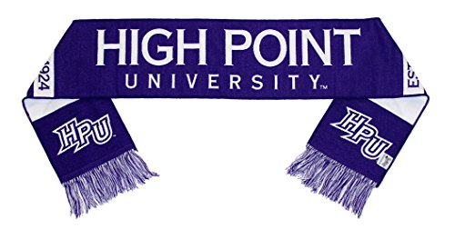 High Point University Scarf - HPU Panthers Woven (Best Private Liberal Arts Colleges)