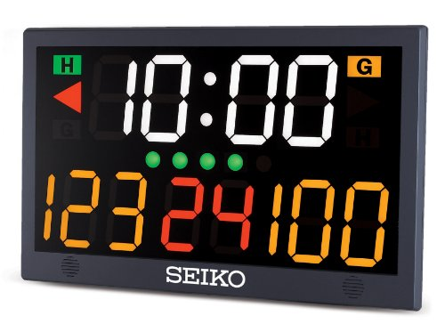 CEI Seiko Table Top Scoreboard, Black