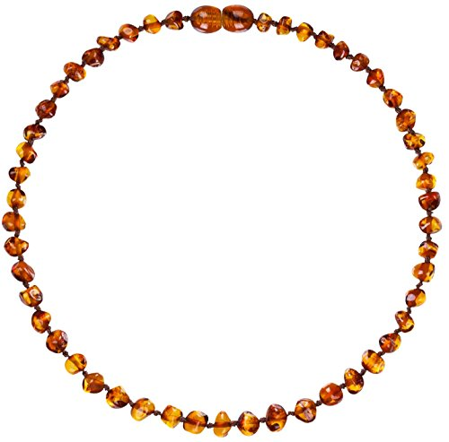 Sale Amber Teething Necklace For Babies Unisex