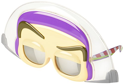 Buzz Lightyear Fancy Dress Adult (Sunstaches Instant Costume Sunglasses, Toy Story Buzz Light Year)