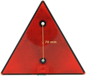 Dreieckrückstrahler Rot Reflektor Rückstrahler Schraubbar Von The Drive Auto