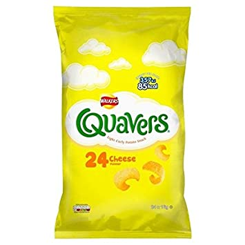 Walkers Quavers Cheese 24 Pack X 16g