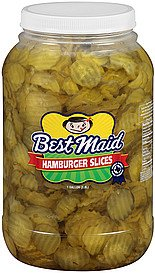 Best Maid Hamburger Slices 80oz Pickles