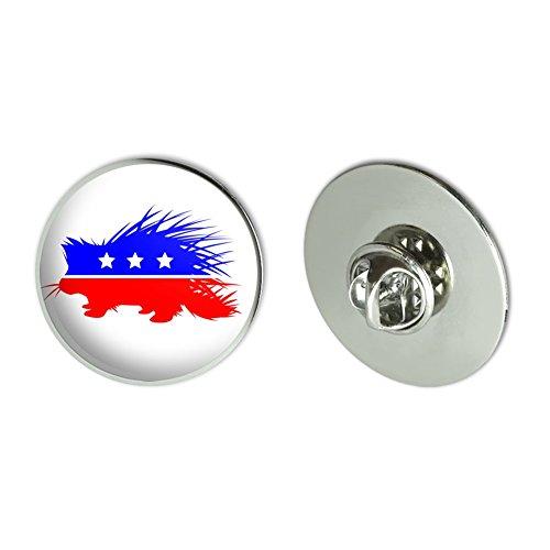 GRAPHICS & MORE Libertarian Party Porcupine Metal 1.1