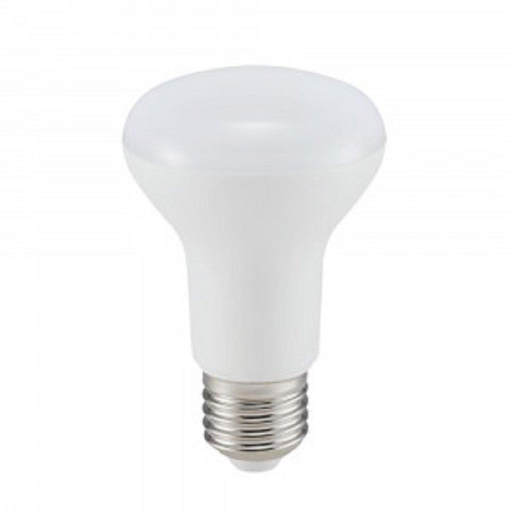 V-TAC Bombillas reflectoras LED R63 4 unidades, E27, rosca Edison, 8 W, luz blanca c/álida, 3000 K, 570 l/úmenes, intensidad no regulable, 30000 horas de vida /útil