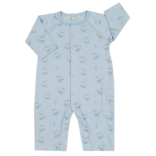 Kissy Kissy Baby-Boys Infant Foxy Print Playsuit