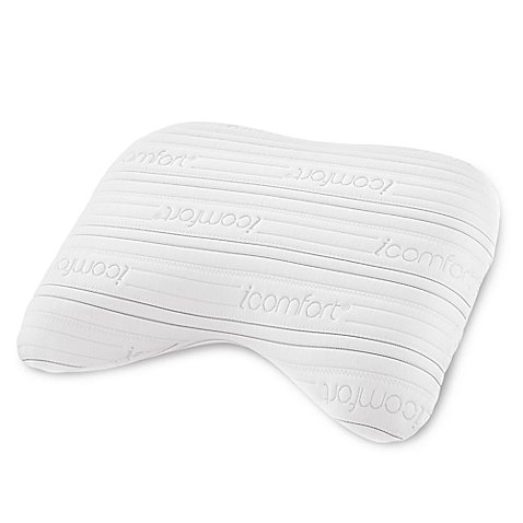 Serta iComfort Sleep System Freestyle Cool Action Dual Effects Memory Foam Pillow