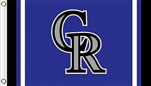 Five Star Flags New Colorado Rockies Flag, Rockies Flag, Flag for Indoor or Outdoor Use, 100% Polyester, 3 x 5 ()