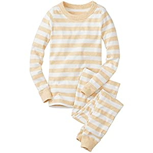 Hanna Andersson Big Boy Kids Long John Pajamas In Organic Cotton