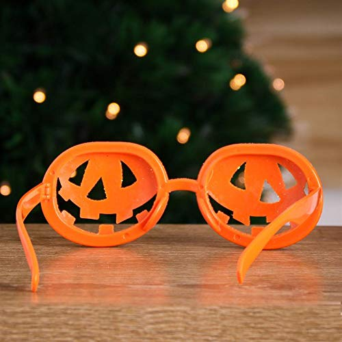 Mini Pumpkin - Funny Halloween Glasses Costumes Pumpkin Lantern Novelty Frame Party And Ball Cosplay Props - Party Decorations Party Decorations Plant Pumpkin Decor Halloween Lense Steampunk Fun