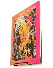 Wandhouder voor geluidsplaten, 6 stuks, zonder boren, decoratieve wandplank, metaal, vinyl opslag, platenstandaard