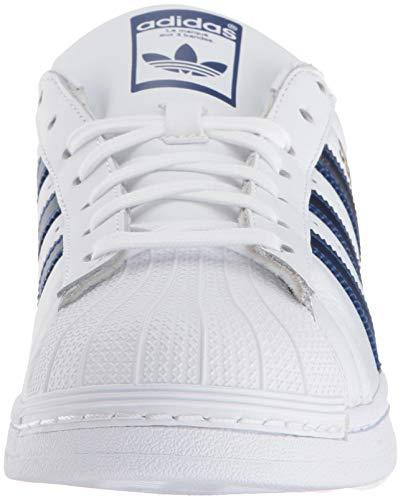 Collegiate Superstar Uomo da Sneakers adidas Bianco Oro Metallizzato Royal nXFUvUgxd