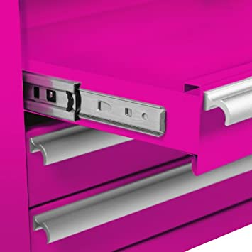 Pink Tool Chest Drawers