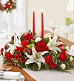 Allen's Flower Market - Christmas Tradition Centerpiece - Premium - Fresh and Hand Delivered - Los Angeles Area