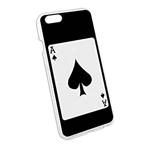 Playing Cards Ace of Spades - Poker Snap On Hard Protective Case for Apple iPhone 6 6s