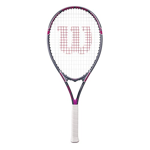 Wilson Tour Slam Adult Strung Tennis Racket, 4 1/4 - Purple