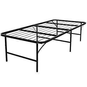 Amazon Com Belleze Premium Foldable Bed Frame 17