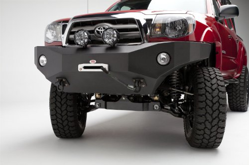 (Body Armor (B/A-PTT-999) Front Winch Bumper Bumper- Front - Fits Toyota Tacoma 2005-2011)