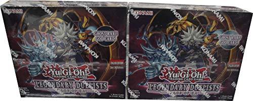 2 Box Lot of Yu-Gi-Oh! 1st Edition Legendary Duelists Rage of Ra YUGIOH Sealed
