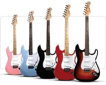 Rosa Nevada St estilo guitarra eléctrica - incluye Free Tutorial DVD.: Amazon.es: Instrumentos musicales
