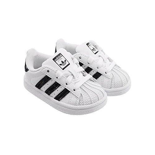adidas Superstar I, Zapatillas de Deporte Unisex Niño, Blanco (Ftwbla/Negbas/Ftwbla 000), 27 EU