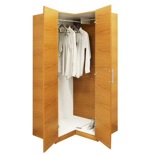 Amazon.com: Alta Corner Wardrobe Closet