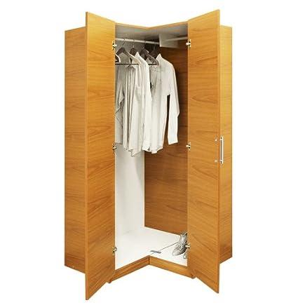 alta corner wardrobe closet free standing corner closet - Corner Wardrobe Closet