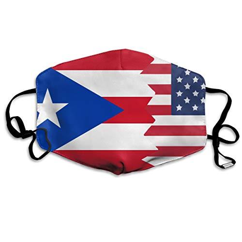 Unisex Mask Dustproof Windproof Antifreeze Mask Protective Face Mask - Puerto Rico USA Flag Protective Breath Healthy Safety Warm Mask