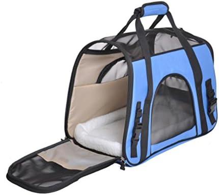 Ammon Lowen bolsa de transporte con jaula plegable para gato perro ...