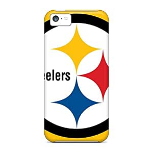 Protector Cell-phone Hard Covers For Iphone 5c With Allow Personal Design Beautiful Pittsburgh Steelers Series JasonPelletier