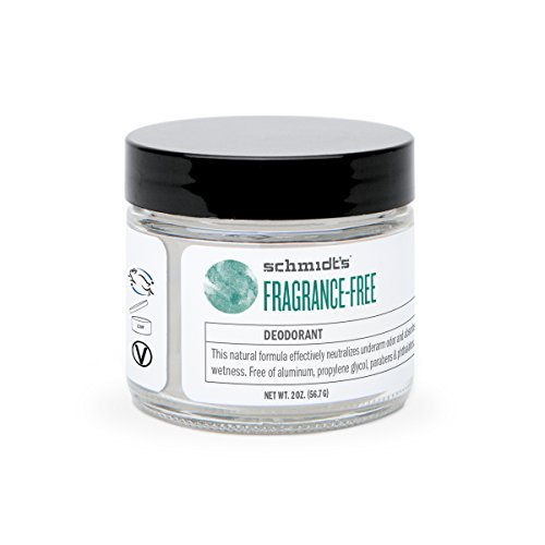 Schmidt's Natural Deodorant, Fragrance-Free, 2 Ounce